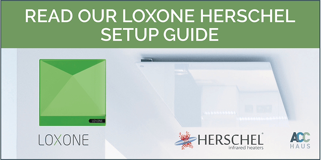 Read our Loxone setup guide