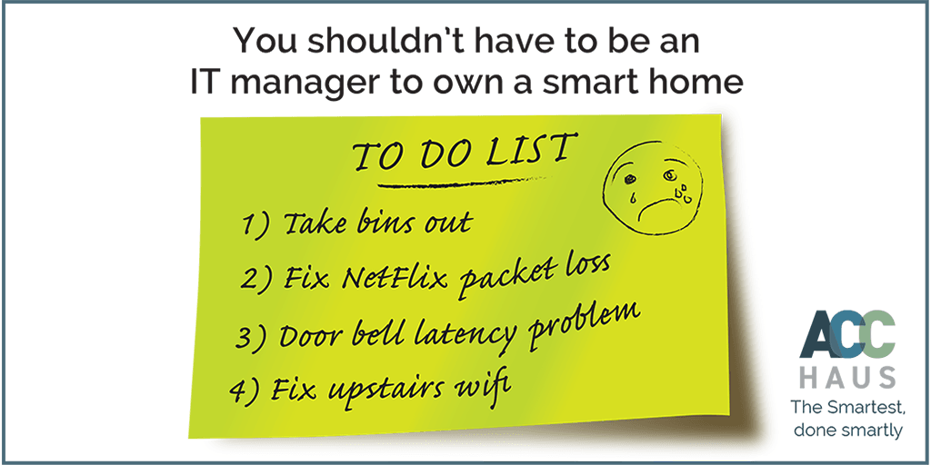 Smart Home To Do List